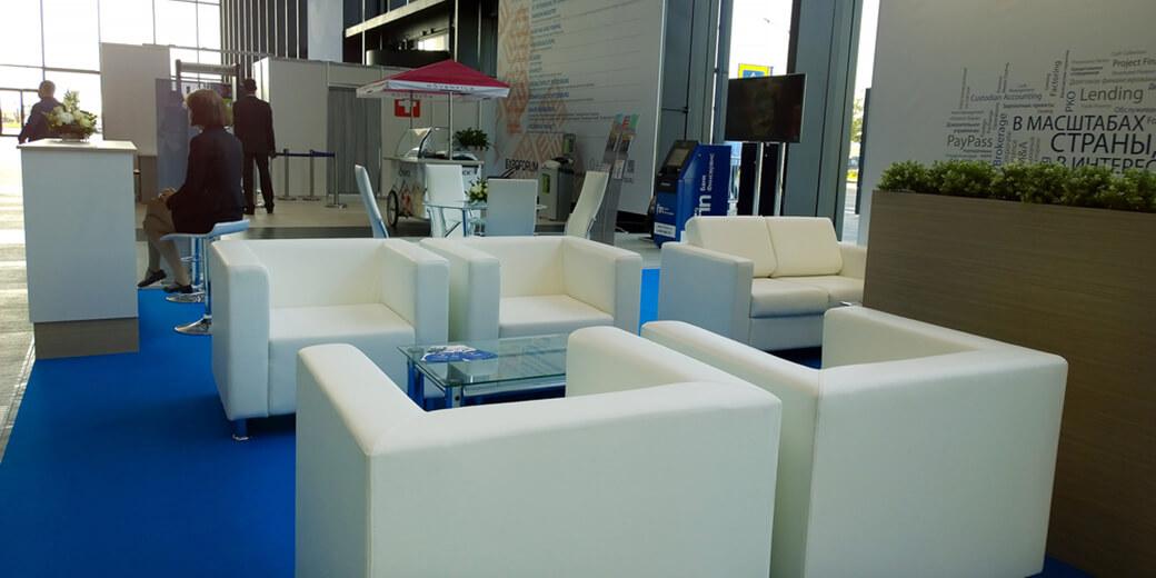 Мягкая мебель в зоне отдыха